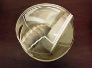 Thomas P. Hubert ceramic bowl courtesy of Robert Kargen