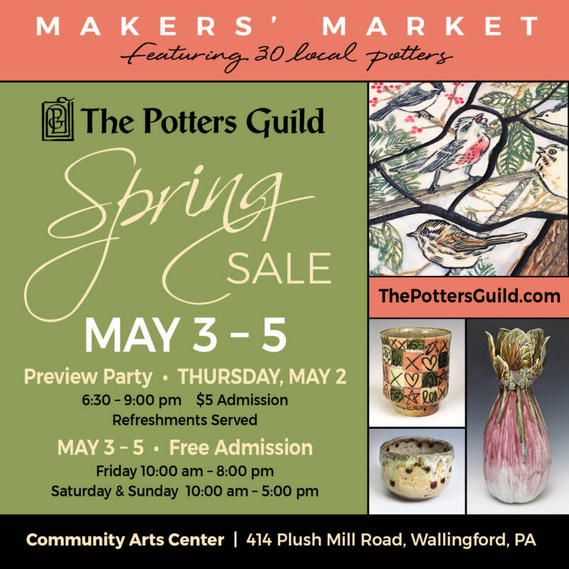 The Potters Guild Spring Sale