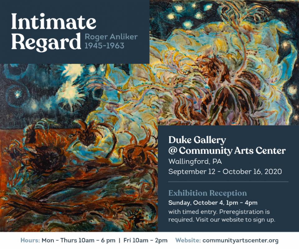 Intimate Regard: Roger Anliker 1945-1963