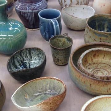 CAC Emerging Artists Pottery Sale