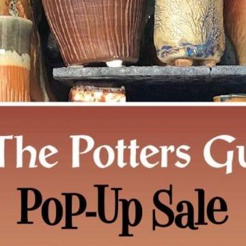 Potters Guild Pot Up Sale