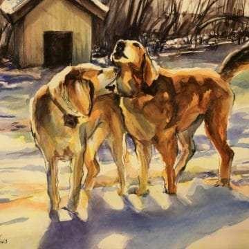 Philadelphia Water Color Society's 121st ANNIVERSARY INTERNATIONAL EXHIBITION OF WORKS ON PAPER Artists Reception