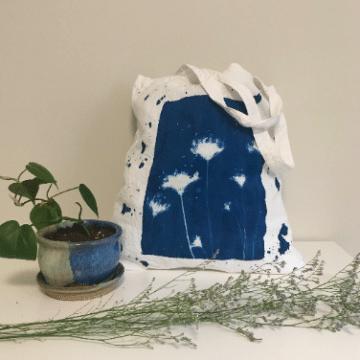 Cyanotype & Textiles: Create a Botanical Bag with Emie Hughes